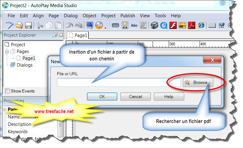 Pourquoi perd-on des mois et des années  à développer par des outils de   développement traditionnels tels que C, C++, Java, Visual Basic et   Delphi,télécharger autoplay media studio gratuit pour créer votre propre dvd   ou cd autorun AutoPlay Media Studio dispose d'une interface simple et   conviviale