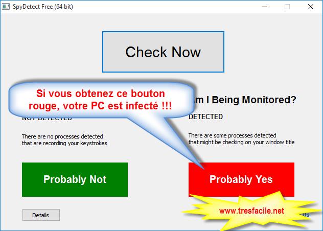 detectez les intrusion de votre pc avec spy-detect-free