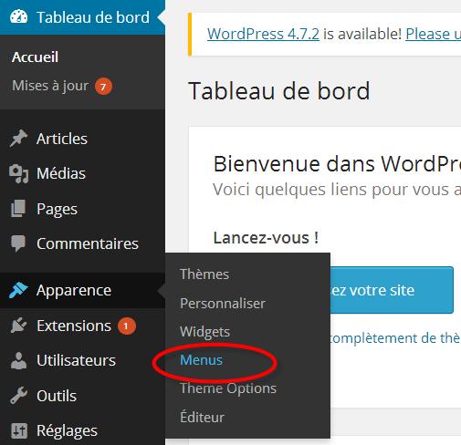 gerer-les-menus-wordpress