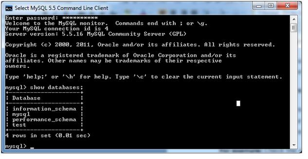 SHOW DATABASES répertorie les bases de données sur l'hôte du serveur MySQL. SHOW SCHEMAS est synonyme de SHOW DATABASES. La clause LIKE, si présent, indique les noms de base de données auxquels correspondent. La clause WHERE peut être donnée pour sélectionner des lignes en utilisant des conditions plus générales, comme indiqué dans la section 23.34, «Extensions à SHOW Statements»