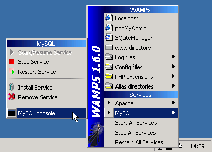invite de votre interpréteur de commande comme suit: shell> mysql db_name Mysql envoie chaque instruction SQL que vous émettez au serveur à exécuter. Il existe également un ensemble de commandes que Mysql interprète lui-même. Pour une liste de ces commandes, tapez help ou \ h à l'invite mysql