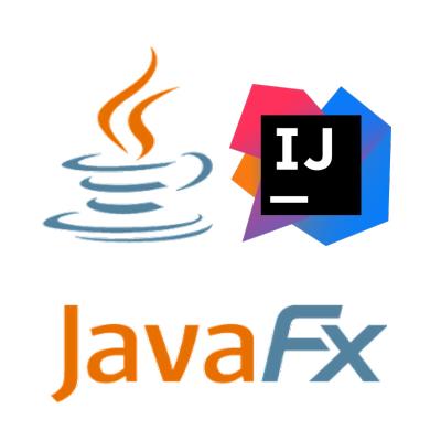 premier programme javafx et configuration avec intellij ide